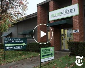 GreenCitizen Recycling Electronics the Greener Way